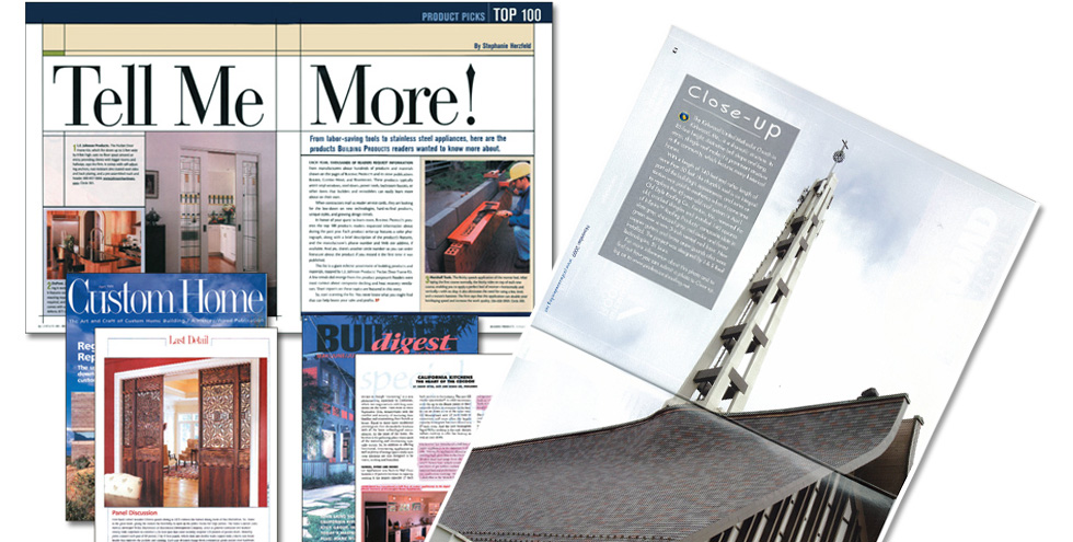 Editorial Placements/Trade Print